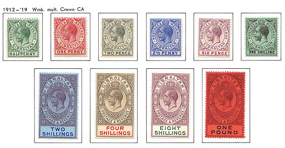1912 King George V Set