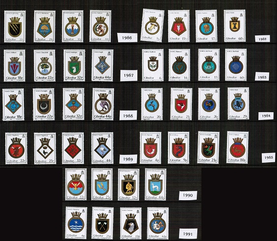Naval Crests Collection Offer
