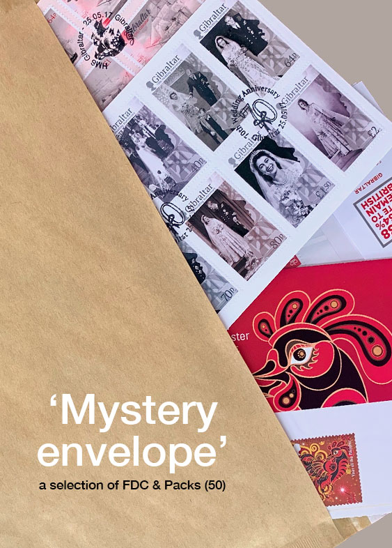 Mystery Envelope of FDC & Packs (50)