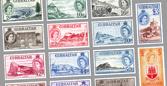 60 Years of the first Gibraltar Queen Elizabeth II