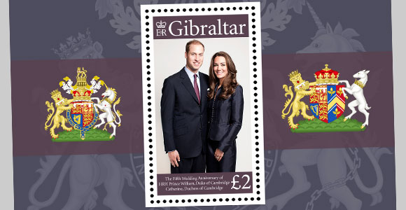 Fifth Anniversary William + Kate