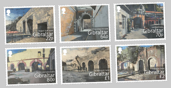 Gibraltar Historic Gates