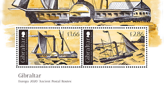 Europa 2020 'Ancient Postal Routes'