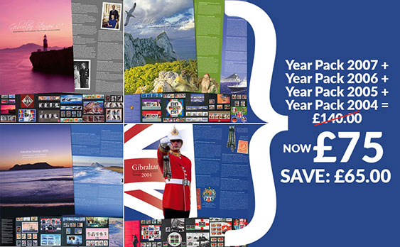 Year Packs 2004 to 2007 Offer